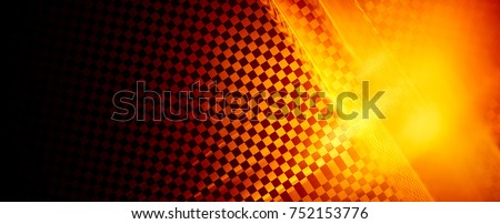 Fantastic unusual abstract background with complex geometric pattern