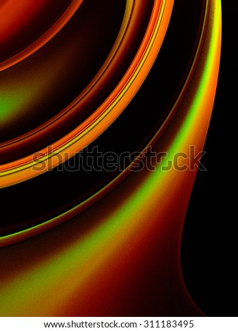 Fantastic Unusual Abstract Background With Complex Geometric Pattern In Gold The Color Scheme Of