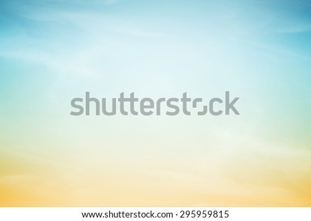 fantasy fluffy cloud and sky in gradient color abstract background with gradient color #295959815