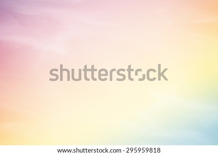 fantasy fluffy cloud and sky in gradient color abstract background with gradient color #295959818