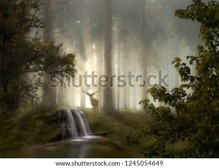 Fantasy Landscape, Compositing
