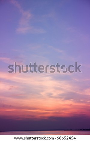Fantasy Photo Heavens - stock photo