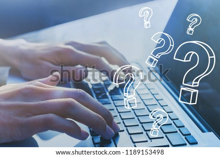 FAQ, ask quiestion online, what where when how and why, search information on internet #1189153498