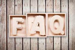 FAQ wood word style