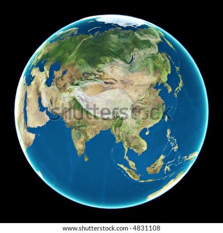 Far Asia - stock photo