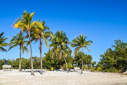 Far Beach at John Pennekamp Coral Reef State Park in Key Largo in the Upper Florida Keys.
