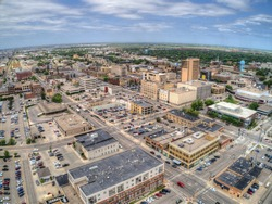 Fargo is a the largest City in North Dakota on the Red River