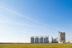 farm grain silos for agriculture