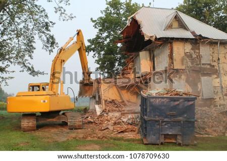 Farm House Demolition