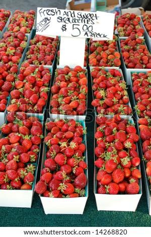 Farmer's Market produce; Redlands, California