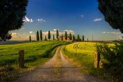Farmhouse near Pienza, Val D'Orcia, Tuscany, Italy