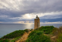 Faro de Camarinal - 16th-century lighthouse constructed on a beacon tower with a spiral staircase and views. Located in the Spanish municipality of Tarifa