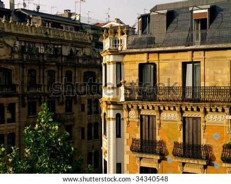 Fascade Of Building in Donostia - San Sebastian