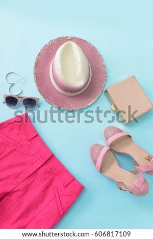 fashion accessories. summer...