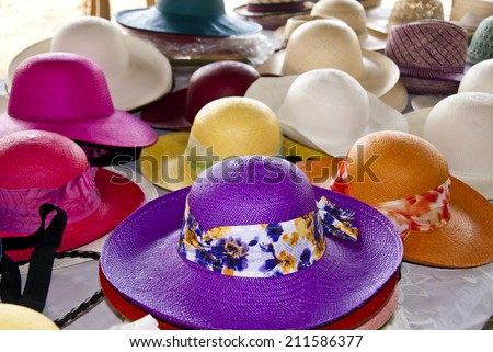 Fashion Accessory - Straw Hats For Women - Protection Against The Sun - Hats In South America / Accessory - Feminine Straw Hats