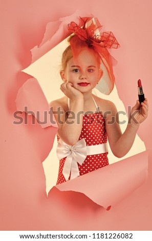 Fashion and beauty, pinup style and childhood. fashion and beauty. #1181226082