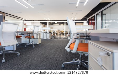 Fashion and modern office interiors #1214927878