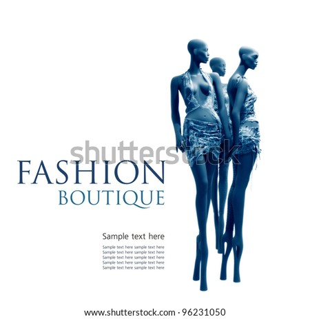 Fashion boutique background