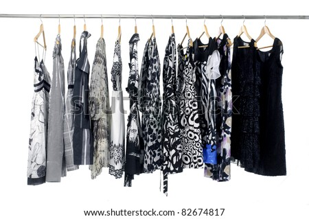 fashion clothes on hangers fashion clothes on hangers