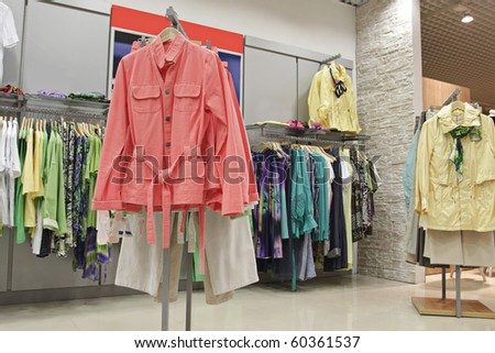 fashion clothes store