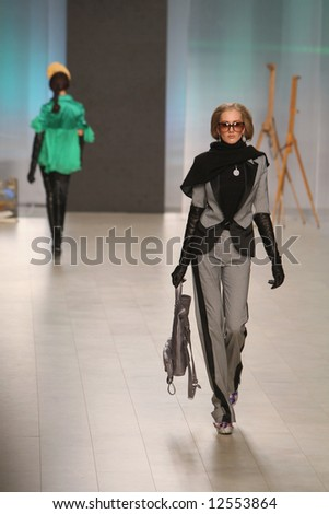 Fashion defile