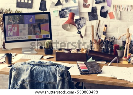 Fashion Design Materials Selection Concept
