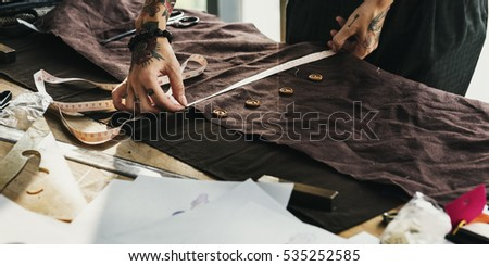 Fashion Designer Cutting Tailor Made Concept #535252585