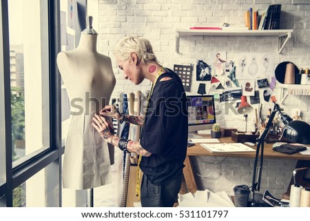 Fashion Designer Stylish Showroom Concept #531101797