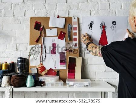 fashion designer stylish...