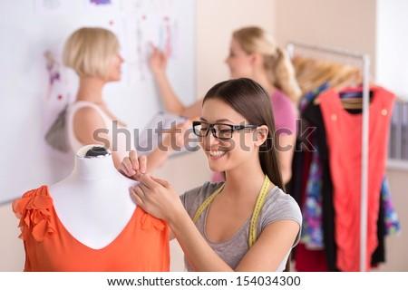 Women Fashion Designers At Work Fashion designers at work