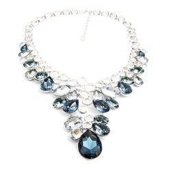 Fashion diamond pendant isolated on white