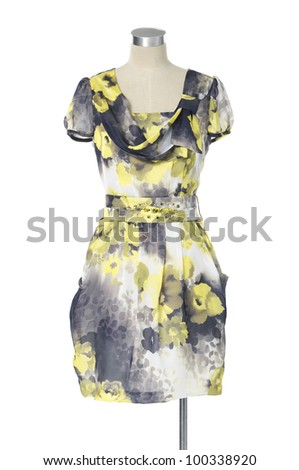 Fashion Female dress on mannequin