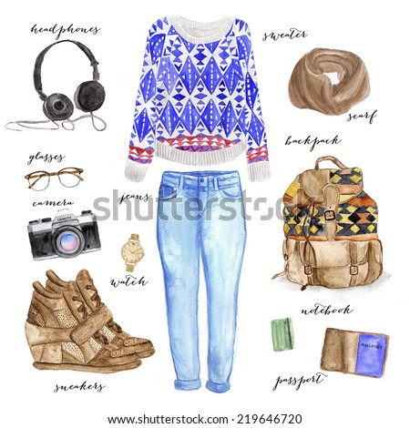 Autumn Fashion Illustration Fashion Illustration Clothing