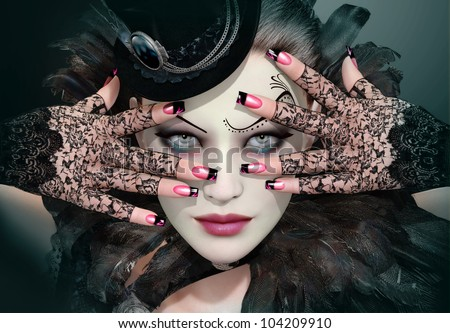 Fashion Lady - stock photo