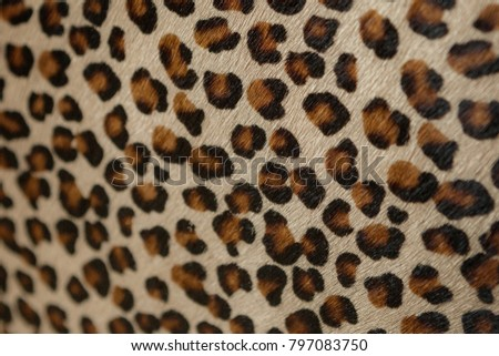 Fashion leopard pattern style bag #797083750
