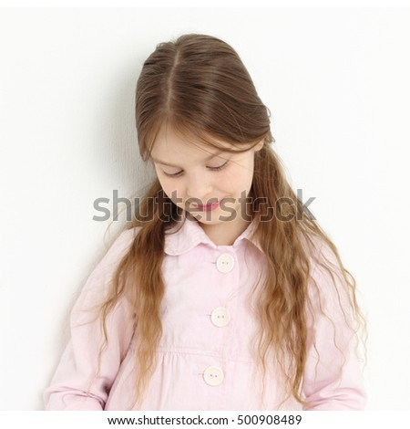 Fashion model with healthy hair #500908489