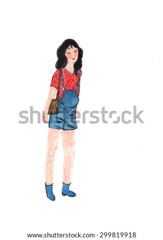 fashion people--shopping