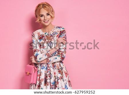 fashion photo of a beautiful...