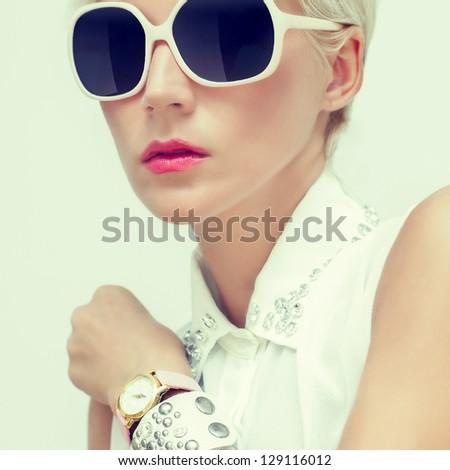 Fashion portrait of sensual girls