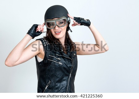 Girl Sexy glasses hipster