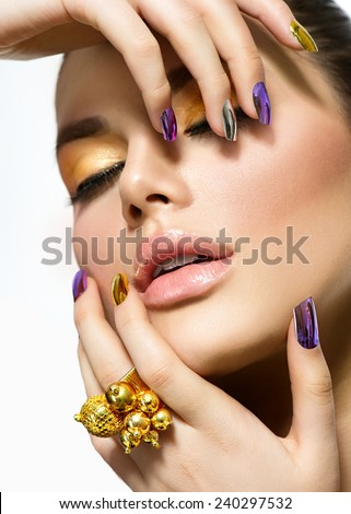 Are sexy women with long nails opinion