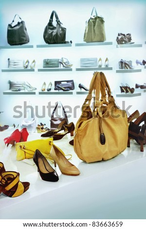 Fashion shoes and bags