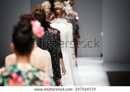 Shutterstock Fashion show