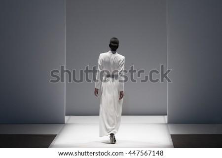 Fashion Show, A Catwalk, Runway Event ストックフォト ©