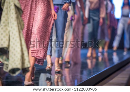 Fashion Show, Catwalk Event, Runway Show