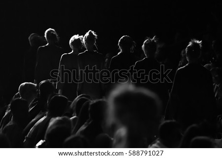 Fashion Show, Catwalk Runway event #588791027