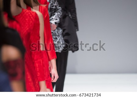 Fashion Show, Catwalk, Runway Event themed photo #673421734