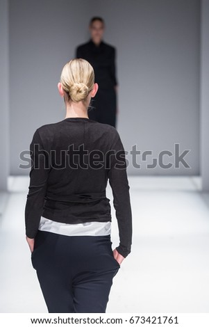 Fashion Show, Catwalk, Runway Event themed photo #673421761