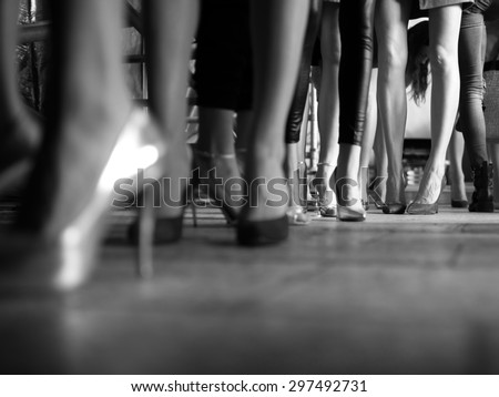 Fashion Show, Catwalk Runway Show Event Backstage Photo. #297492731
