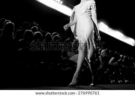 Fashion Show, Catwalk Runway Show Event, Fashion Week themed photograph.
